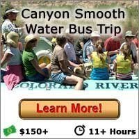 Canyon Smooth Water Bus Trip