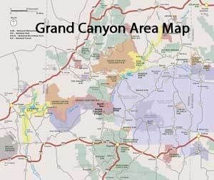 Where Grand Canyon Located Your Grand Canyon Map