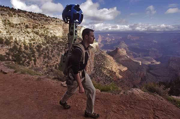 Googles Cameras On Canyon Hiking Trails GrandCanyoncom