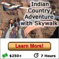 Indian Country Adventure with Skywalk - Las Vegas Grand Canyon Tours
