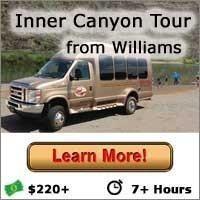 Inner Canyon Tour from Williams, Arizona