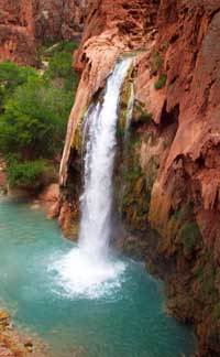 Havasupai Falls Grand Canyon West Due To Flooding On July 11 Public Access Is Now Closed Through The End Of August
