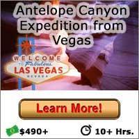 Antelope Canyon Expedition - Las Vegas Grand Canyon Tours