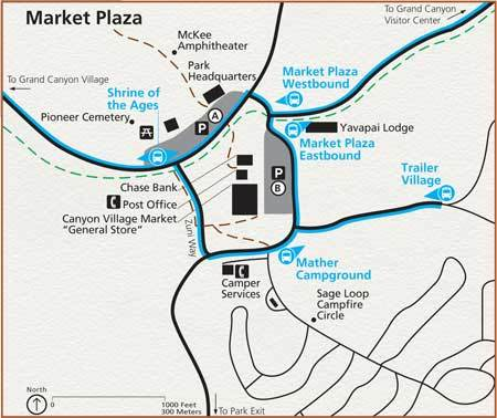 South Rim Market Plaza Parking Map