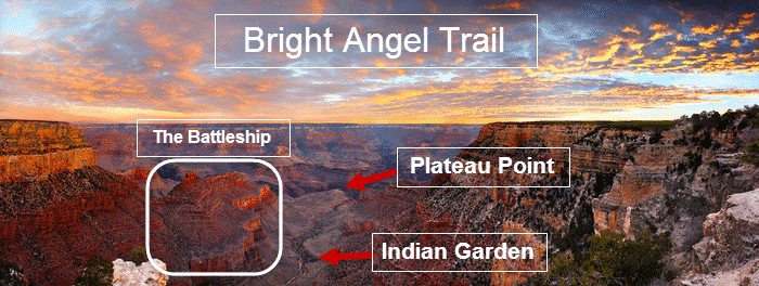 Grand Canyon Hikes - Bright Angel Trail