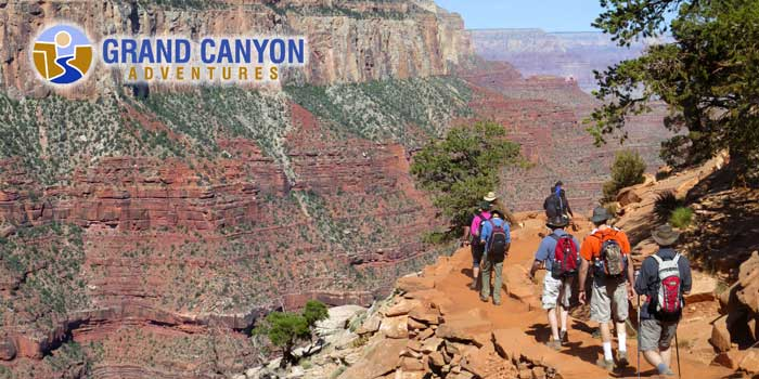Grand Canyon Adventures hiking