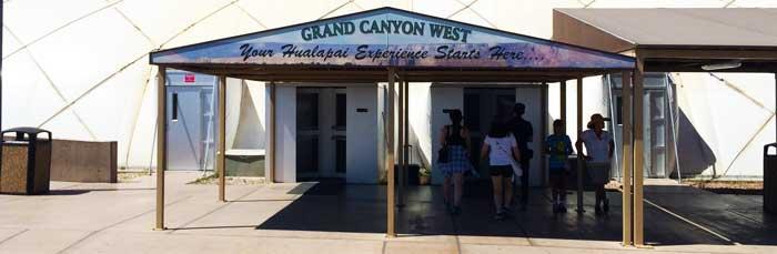 Grand Canyon West Tour Center Entrance