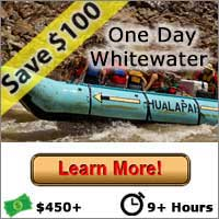 One Day Whitewater - Save $100 - Las Vegas Grand Canyon Tours