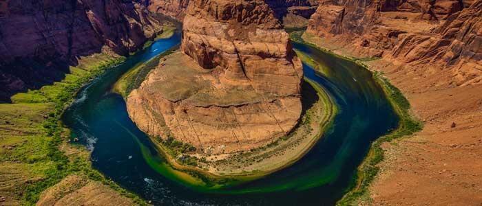 Horseshoe Bend Grand Canyon East