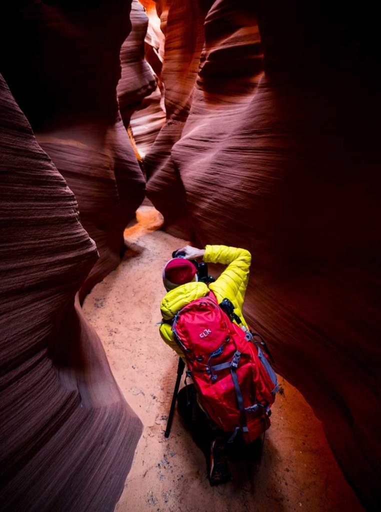 Horseshoe Bend Slot Canyon Photographer