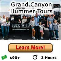 Grand Canyon Hummer - Learn More Button
