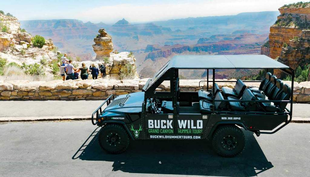 Grand Canyon Hummer Tours - At The Rim